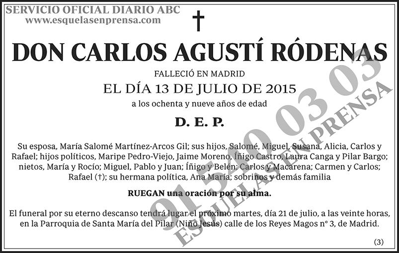 Carlos Agustí Ródenas